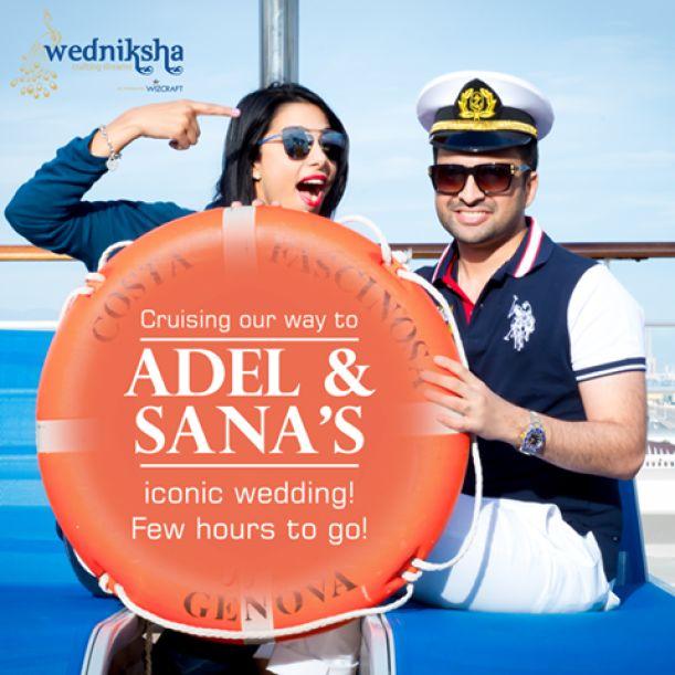 Crazy Cruises Il più grosso grasso matrimonio indiano? A bordo di Costa Fascinosa