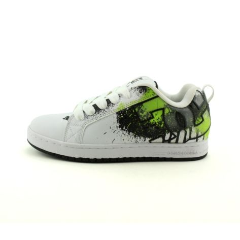 Shop for Mens DC Court G SE Skate Shoe in WhiteLime at Journeys Shoes. Shop