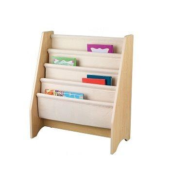 Sling Bookshelf in Natural $99.95 #sweetcreations #baby #toddlers #kids #furniture