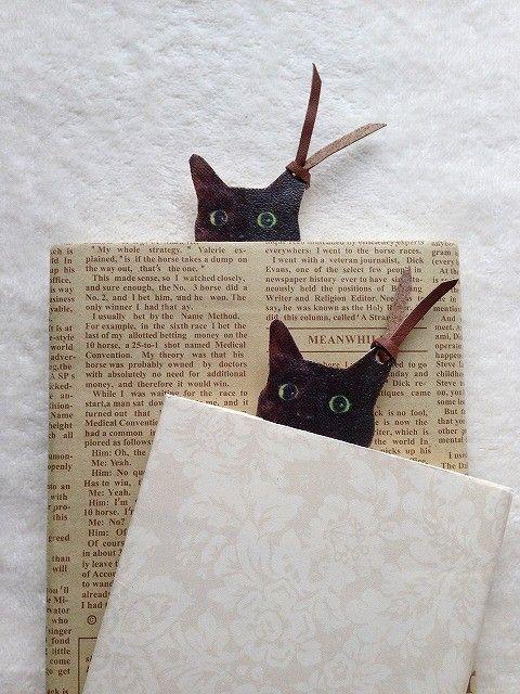 黒猫クーちゃんのブックマーク【栞】 - emi chouchou