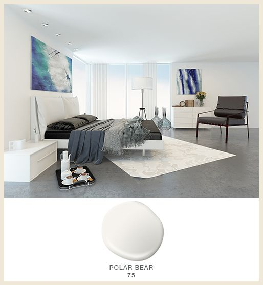 Polar Bear 75 Helps Make This Bedroom Feel Effortlessly