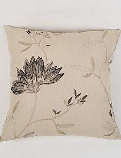 Embellished&Embroidered+Polyester+Pillow+Case++Traditional/Classic+Accent/Decorative+–+AUD+$+10.20