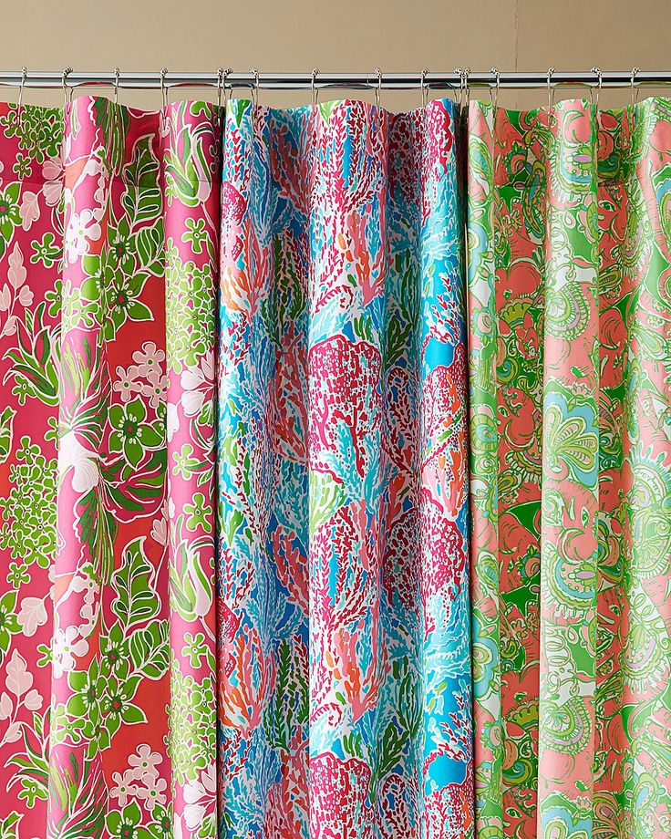 Lilly Pulitzer Sister Florals Shower Curtain
