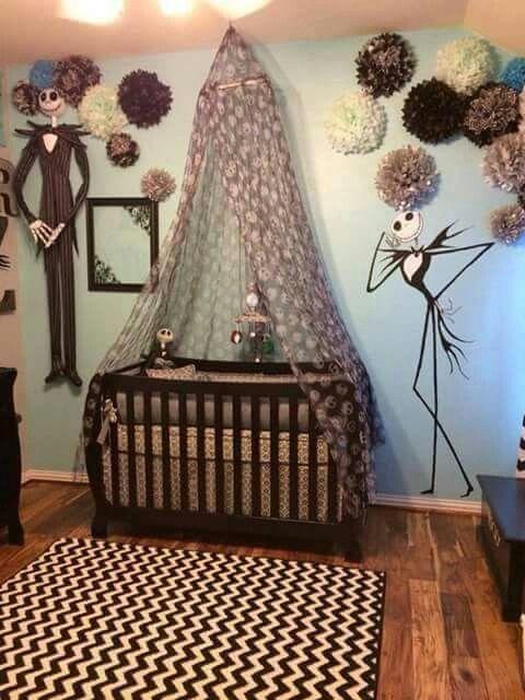 Nightmare before Christmas nursery