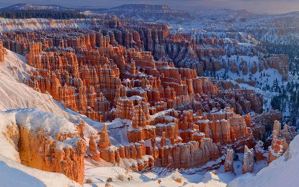 Брайс-Каньон Брайс-Каньон, Природа, Америка, юта, красивые места, длиннопост