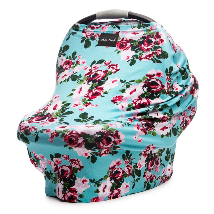 Milk Snob Car Seat Cover Turquoise - The Project Nursery Shop