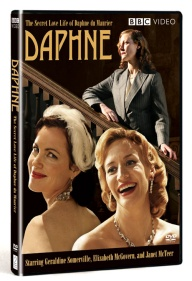 Daphne Starring: Geraldine Somerville , Elizabeth McGovern , Janet McTeer Directed by: Clare Beavan Produced by: Clare Beavan Written by: Margaret Forster , Amy Jenkins Geraldine Somerville and Academy Award® nominees Elizabeth McGovern and Janet McTeer star in this BBC biopic which explores the secret love life of Daphne du Maurier, author of Rebecca and one of the best-loved writers of all time.