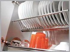 escorredor de pratos de embutir inox
