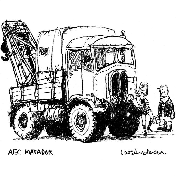 AEC Matador. By Lars Andersen