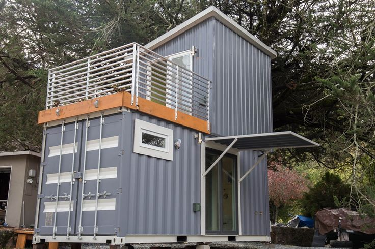 This is a two-story shipping container tiny house for sale that's totally unlike anything I've seen before! Designed by BoxedHaus, it has beautiful modern finishes, an upstairs bedroom …