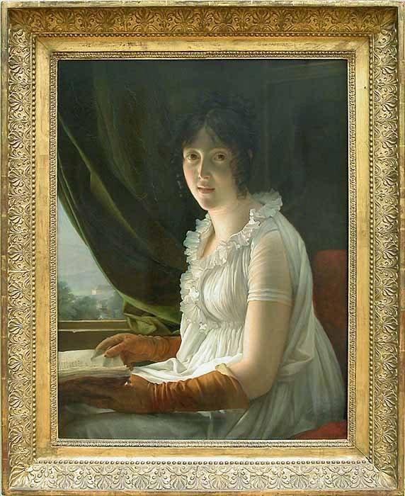 François Gérard, Marie-Philippe-Claude Walbonne, première femme du peintre Jacques-Luc Barbier-Walbonne, ami de l'artiste, 1796