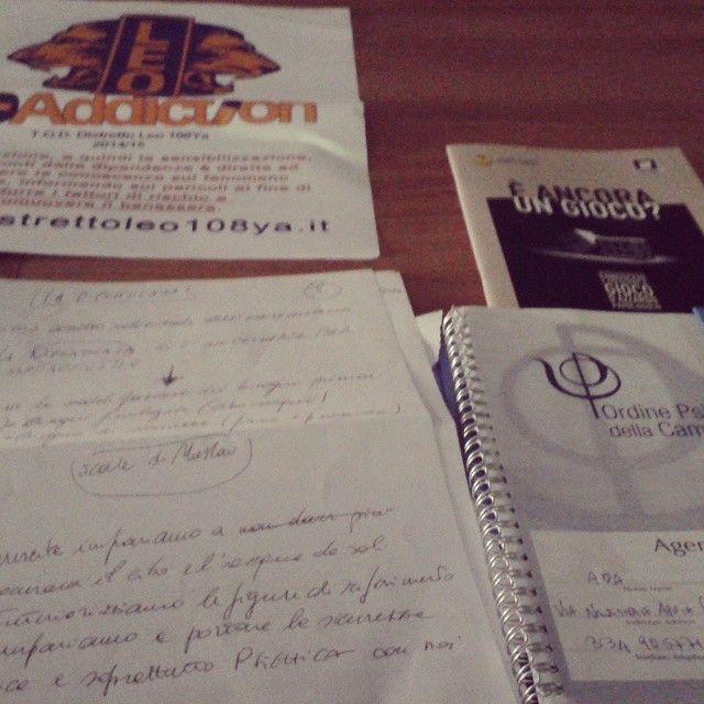 Gli appunti del mio intervento al convegno Dipendenza: informazione e prevenzione