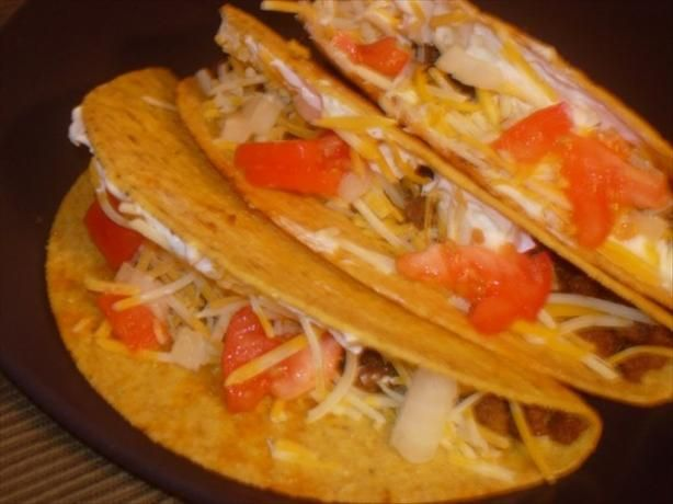 Easy Tacos. gonna make it a taco salad :) and add some Dorito's chips ...