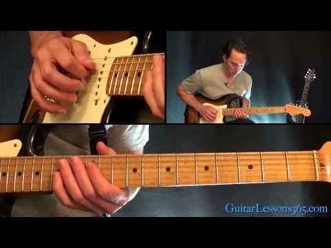 Hey Joe Guitar Solo Lesson - Jimi Hendrix - YouTube