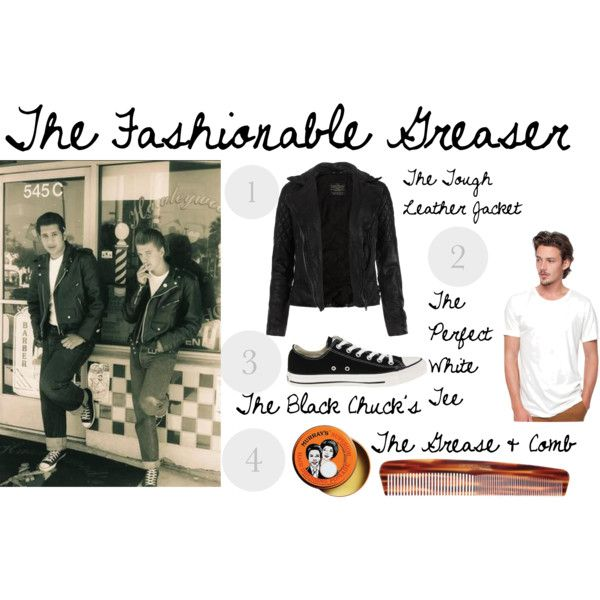 Style Guide for Guys: The Fashionable Greaser