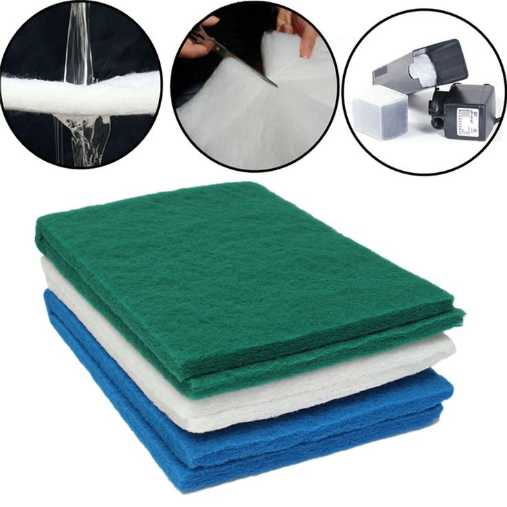 Foam Biochemical Cotton Pad Mat Media Filter for Aquarium Fish Tank Pond Pump