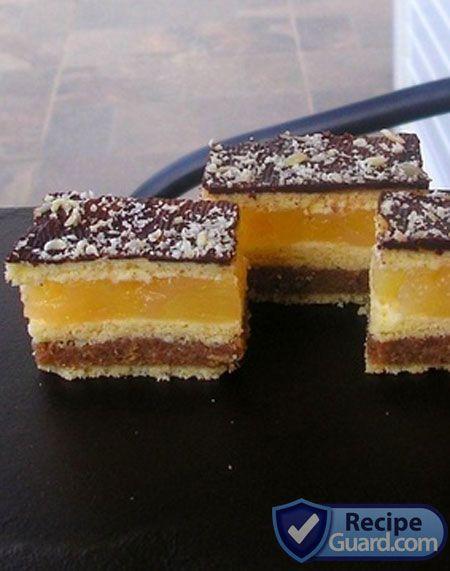 Tasty and Aromatic Pineapple Decker Cake