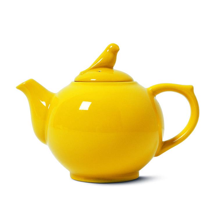 Dzbanek do herbaty umili chwile towarzyskie. Również biały. #teapot  #dzbanek #ptaszek #bird #kitchen #kuchnia #herbata #tea #tigerstore #tigerpolska #teatime