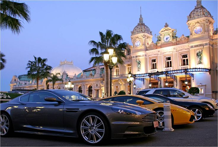 Luxury cars in Monaco - such a beautiful place