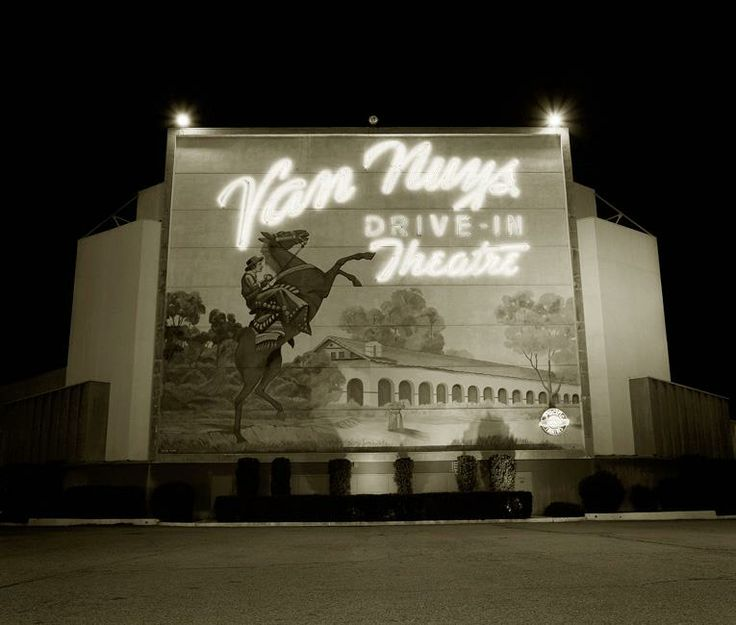 Van Nuys Drive-In San Fernando Valley (my aunt & uncle lived right around the corner)!!