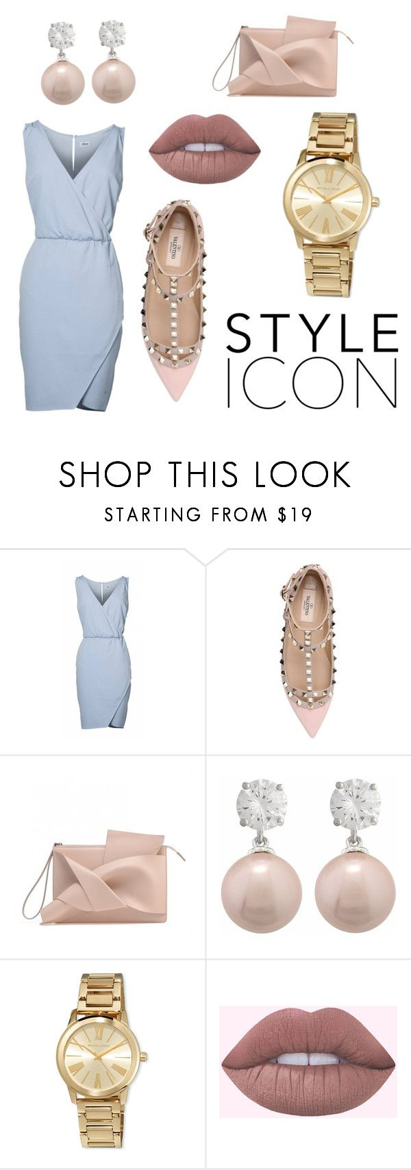 """Perfect 💙"" by nicolemtnez on Polyvore featuring moda, Valentino, Jankuo y MICHAEL Michael Kors"