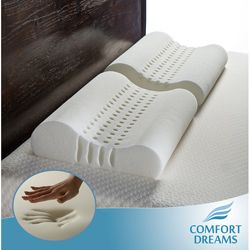 @Overstock - Enhance your night's sleep with this plush contoured memory foam pillow. This foam pillow features punched holes allowing better air circulation to reduce snoring while the contour improves back posture for both side and back sleepers.http://www.overstock.com/Bedding-Bath/Personal-Anti-snore-Contour-Memory-Foam-Pillows-Set-of-2/3818335/product.html?CID=214117 $29.99