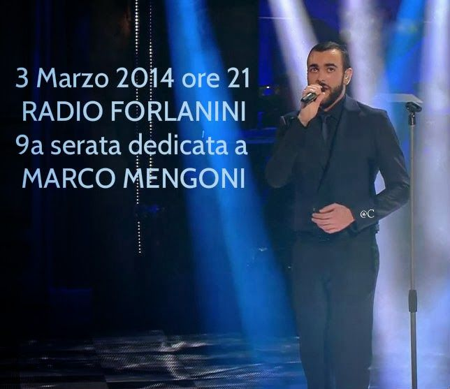 Marco Mengoni Il Blog: Radio Forlanini per Marco