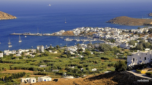 The Port of Serifos