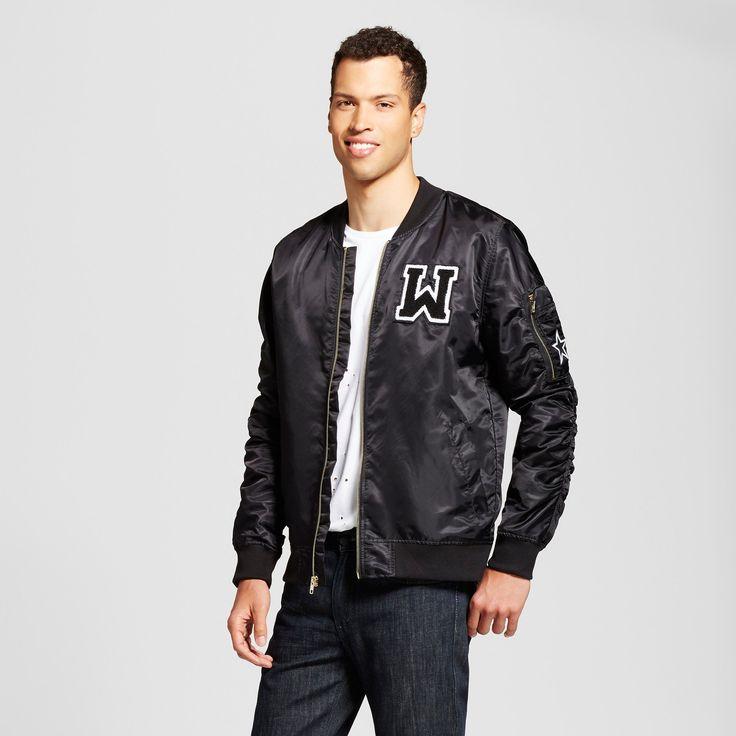 Men's Bomber Jacket Black XL - Jackson