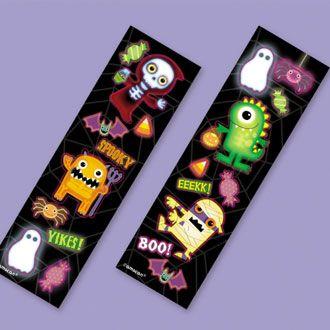 Halloween Sticker strips