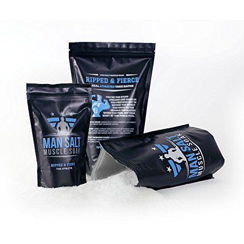 ManSalt Muscle Soak -Epsom Salt Bulk- - Best Bath Salts (Athlete, 3LB) >>> You can find more details at