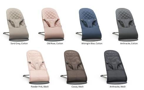 BabyBjorn Bouncer Bliss Colors