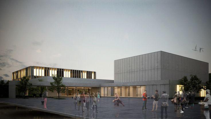 Primer Lugar en concurso del complejo cultural de la Universidad Nacional de Moreno / Argentina