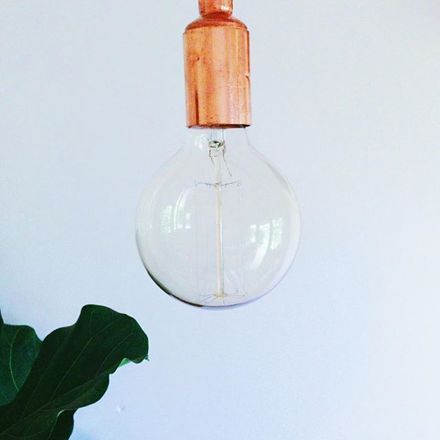 Filament bulbs are high up on our favourite things list.