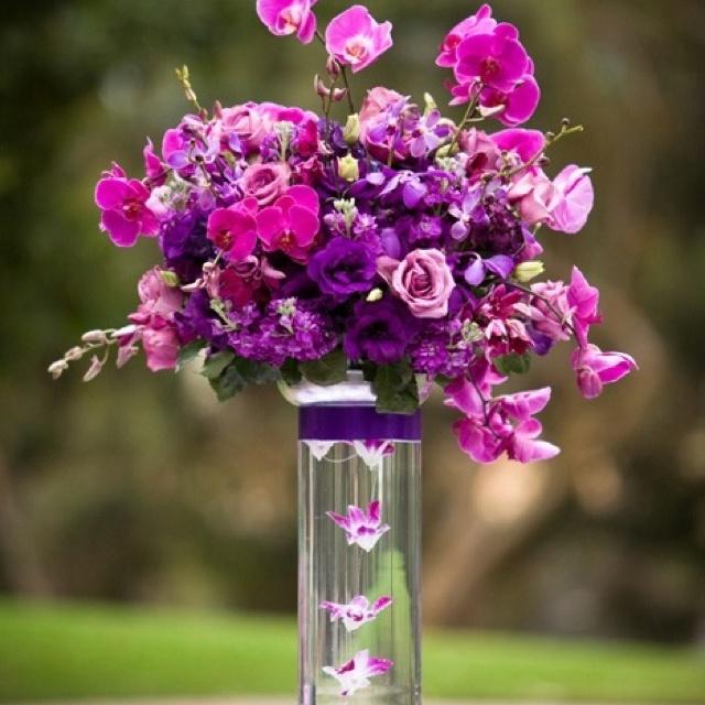 Best purple wedding bouquets etc images on