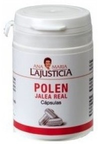 Ana Maria Lajusticia Polen con Jalea Real 60 capsulas. Comprar aqui: http://www.suplments.com/ana-maria-lajusticia-polen-con-jalea-real-60-capsulas