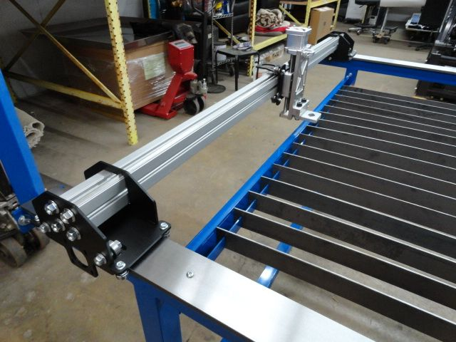 Low Cost Dual Purpose 4x4 Cnc Plasma Table By Precision