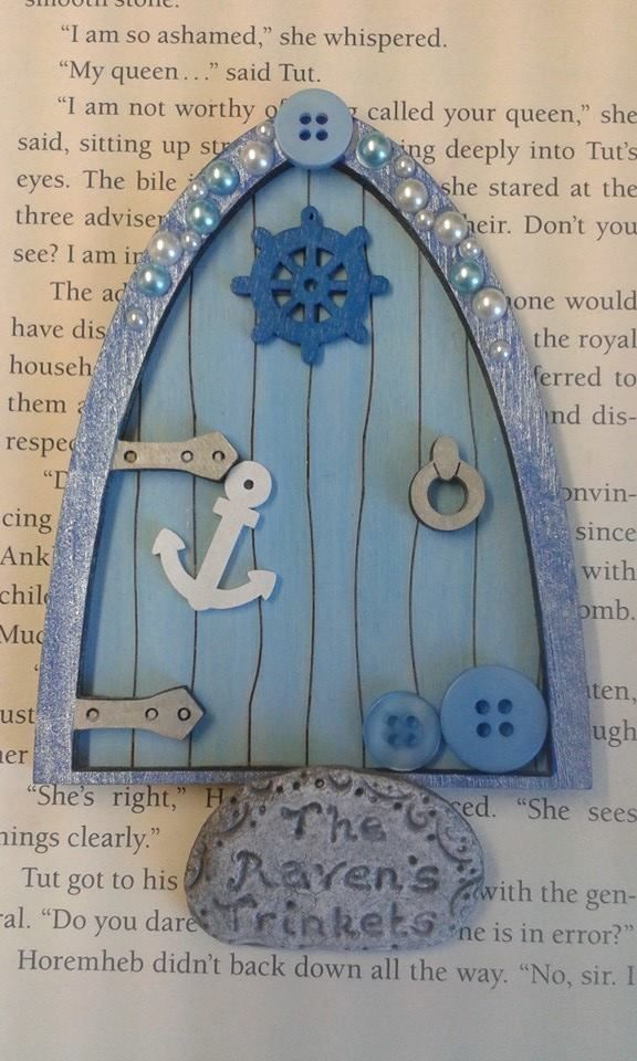 BOYS TOOTH FAIRY DOOR with gift bag in Collectables, Fantasy/ Myth/ Magic, Mythical Creatures | eBay