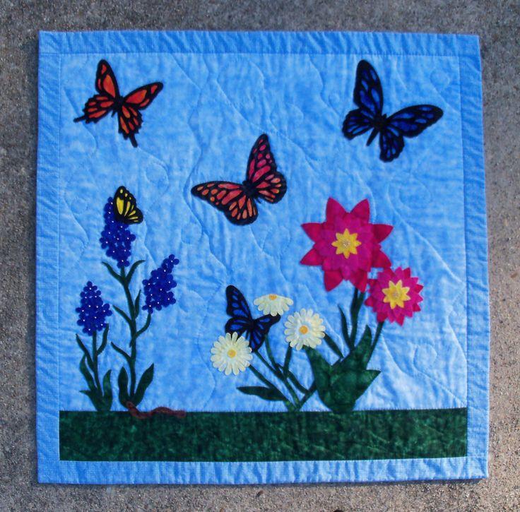 Fluttering Through My Garden Pattern