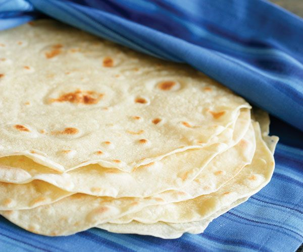 Handmade Flour Tortillas Recipe -- with step-by-step instructions