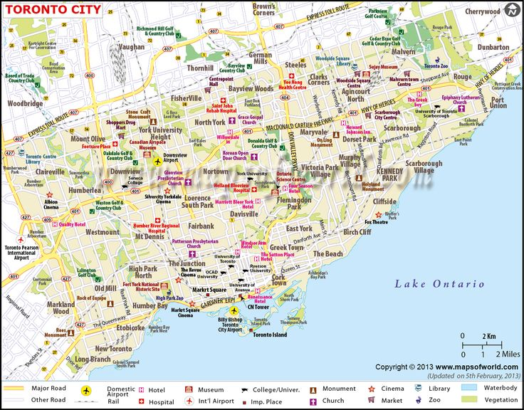 The Best Toronto Canada Map Ideas On Pinterest Visit Toronto - Canada cities map