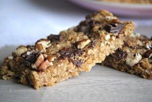 Barres de céréales VEGAN/SANS GLUTEN, flocons d'avoine et dattes délicieuses :)