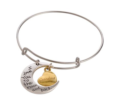 Grandma Moon Charm Bracelet