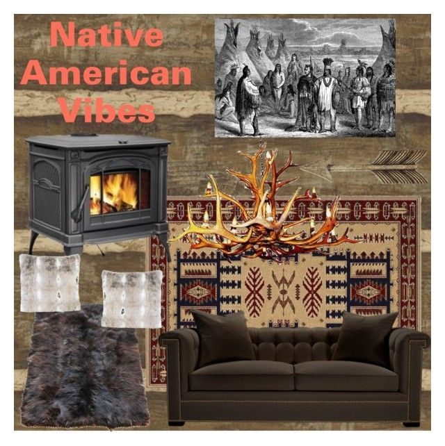 Native american vibes by serrealdesigns on polyvore for Native american interior design