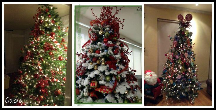 17 mejores im genes sobre navidad decoraciones en - Arboles de navidad bonitos ...