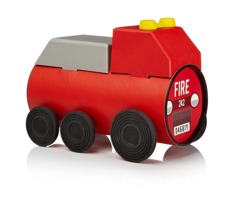 Le tube en carton devient un véhicule ! Facile à construire