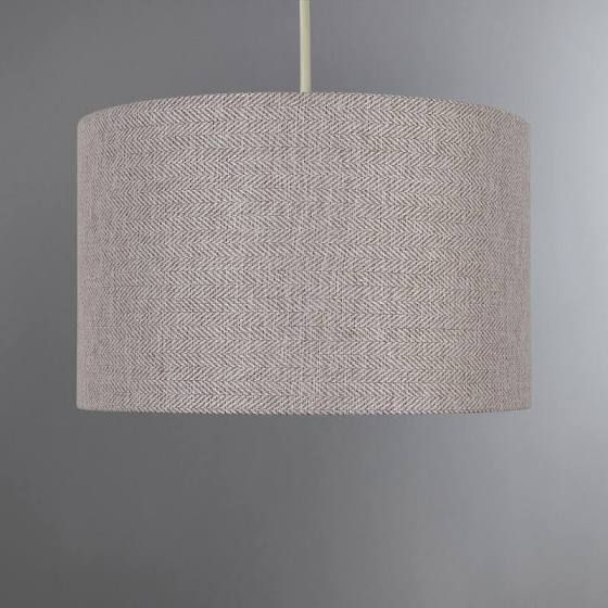 large pink light shade