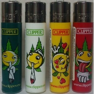 Clipper Smiley Smoker Lighters :)