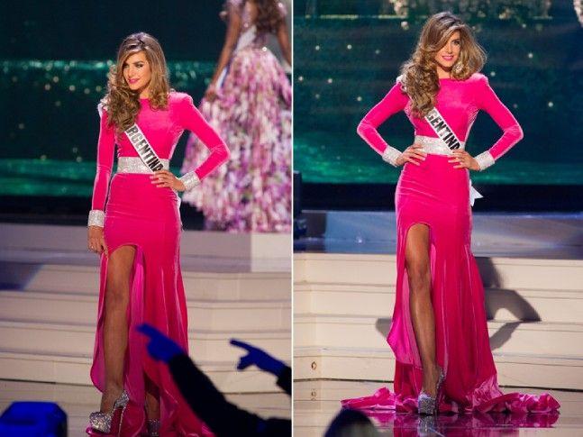 Miss Universe Argentina (Valentina Ferrer) - Prince Julio Cesar design