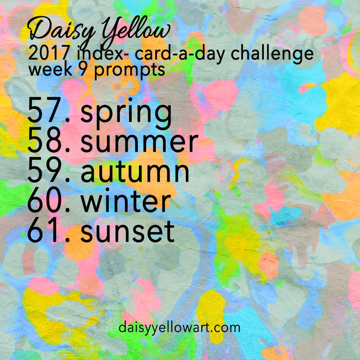 ICAD 2017 Week 9 Prompts & Themes